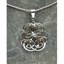 Celtic Flower Pendant