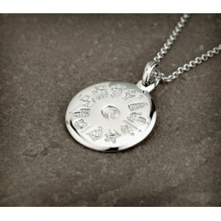 History of Ireland Pendant Disc