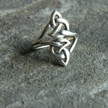Celtic Eternity Knot Ring B