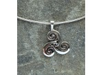 Triscal with Triquetra Pendant